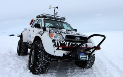 Jet-Fueled Toyotas Cover the Antarctic in Under Four Months