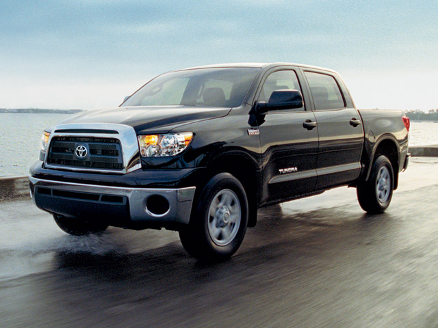 Elegant A Prominent Grille And 18 Inch Alloy Wheels Give The Tundra U201cmuscle And  Mass,u201d While The Front Bucket Seats With Eight Way Power Give It Some  Convenience.