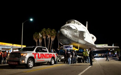 TheVideo: The Toyota Tundra Succesfully Towes Space Shuttle!