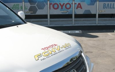 New Toyota Fuel Cell Powers Building