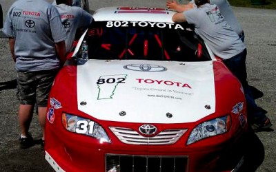 Shawn's Finished Toyota Camry for the Thunder Road SpeedBowl