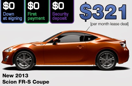 March Zero Down Scion Lease Deals 802cars Com