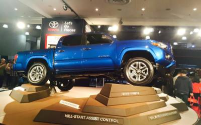 Toyota at the New York International Auto Show!