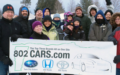 802Cars.com Continues the Fight Against Cancer in Central Vermont in 2015