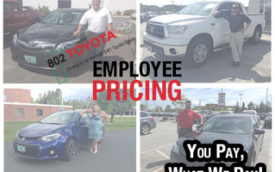 One Big Toyota Family: The 802 Toyota Staff & their Toyota Vehicles!