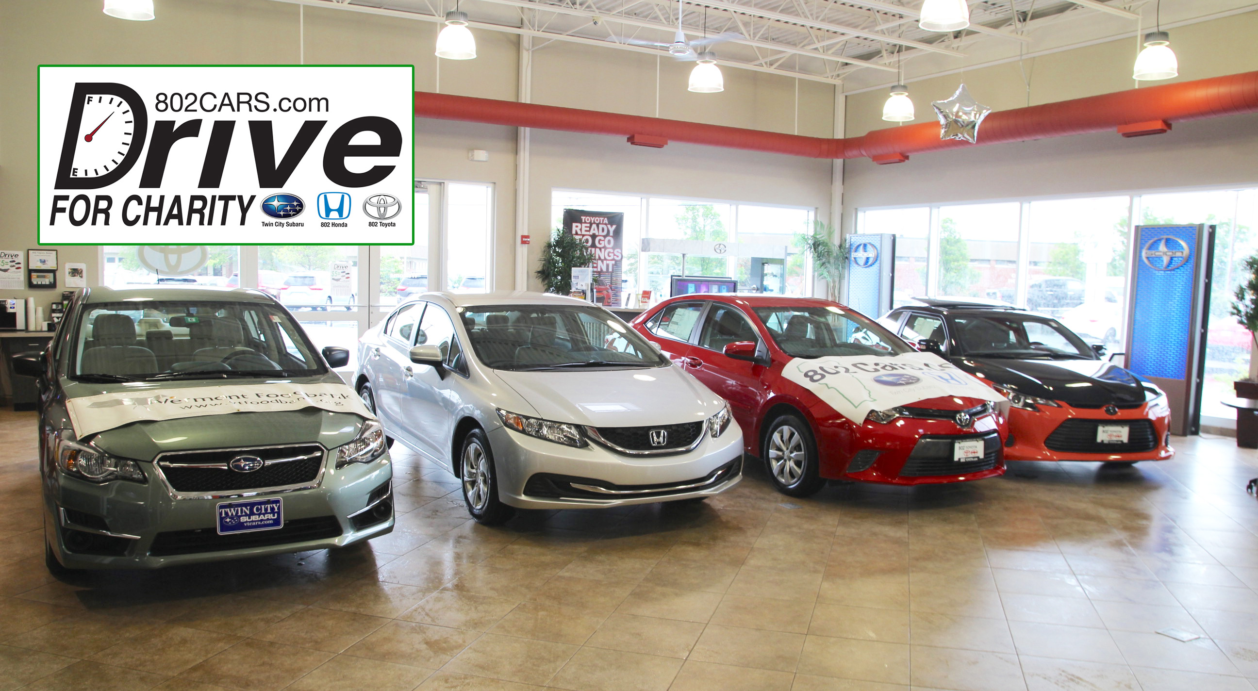 Drive for charity update for Twin cities honda dealers