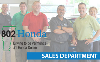 Sales and Leasing Professional | 802 Honda