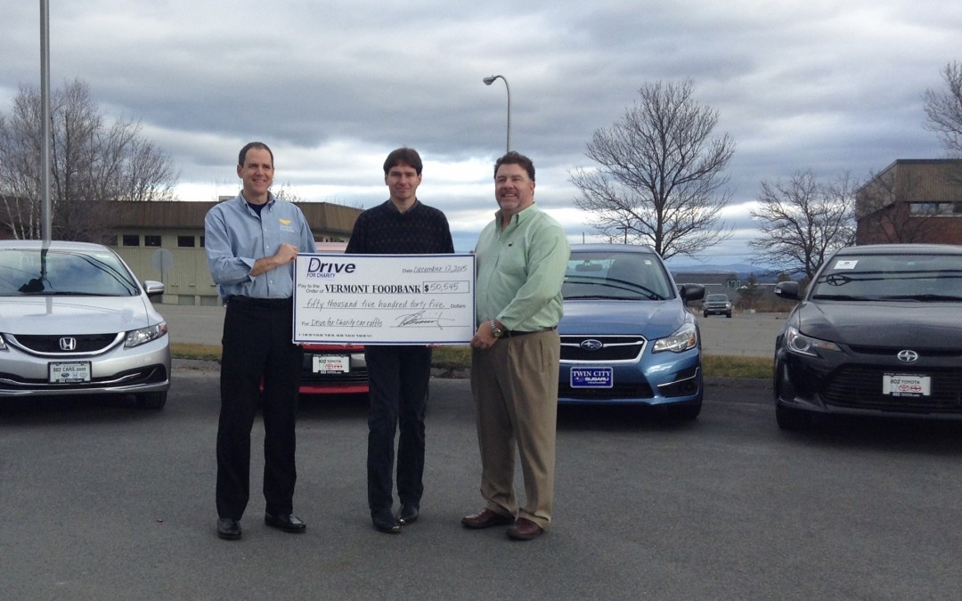 Drive For Charity Winner Chose His Vehicle!