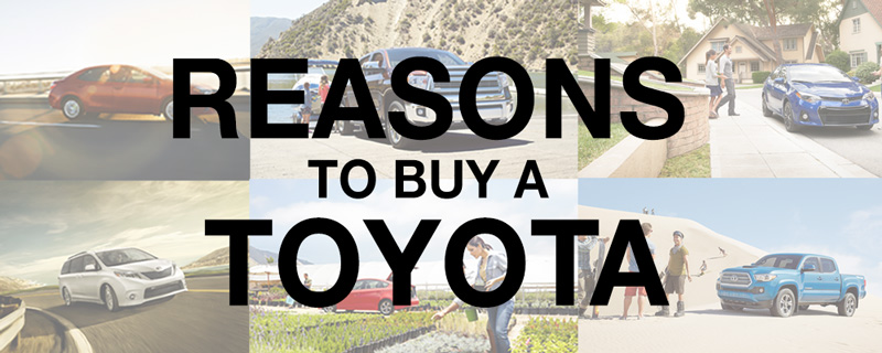 Buy A Toyota >> Reasons To Buy A Toyota 802cars Com