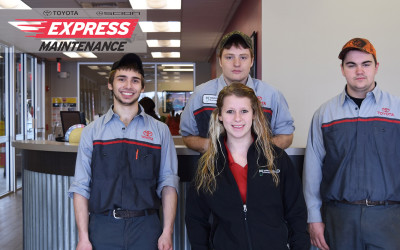Meet the Toyota Express Maintenance Team!