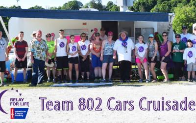 802Cars exceeds goal of 802 laps for Relay for Life!