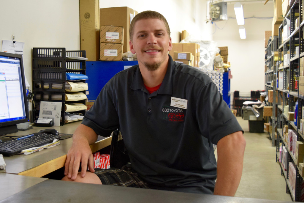 Tim Wheatley 802 Toyota Parts Department