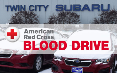 Blood Drive at Twin City Subaru!