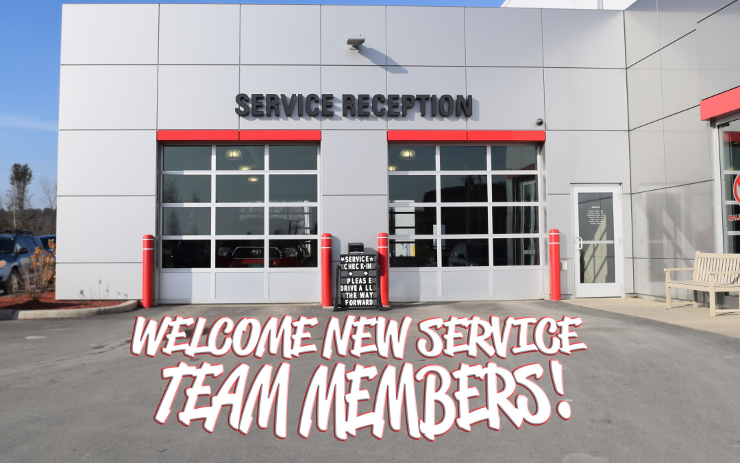 New Additions to the 802 Toyota Service Team!