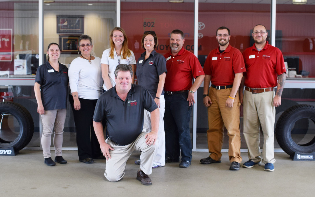 Meet the 802 Toyota Service Family