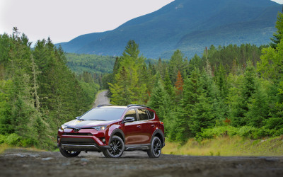 The New 2018 RAV4 Adventure