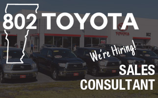 802 Toyota Full-time Sales Consultant