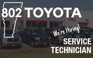 802 Toyota Full-time Experienced Service Technician