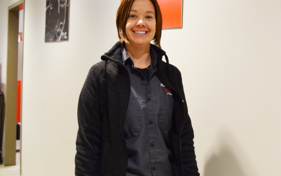 Amber Dudley, The New 802 Toyota Service Manager