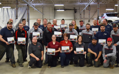 Our service team is Toyota Certified!